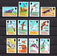 Tristan Da Cunha  - 1977. Uccelli Marini. Fresca Completa Serie MNH. Seabirds. Complete Fresh MNH Series - Albatro & Uccelli Marini