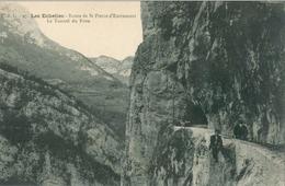 Les Échelles; Route De St Pierre D'Entremont. Le Tunnel Du Frou - Non Voyagé. ( E. B. G.) - Les Echelles