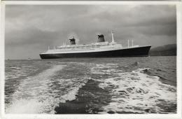 BATEAU PAQUEBOT CARTE PHOTO DU FRANCE - Dampfer