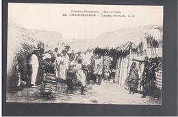 Cote D'Ivoire Grand- Bassam - Tamtam D'enfants L.S.  Ca 1905 Old Postcard - Côte-d'Ivoire