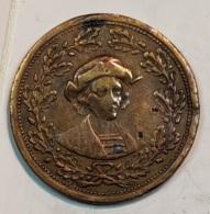 Jeton - Medaile --  EXPOSITION  CHICAGO  1893 ( World's Columbia Exposition ) - Autres