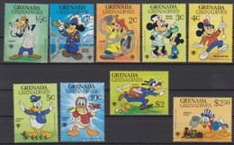 2509  Walt Disney  Grenada  Grenadines ( International Year Of The Child) 1979 . - Grenade (1974-...)