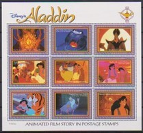 2526b  Walt Disney   Guyana - Aladin ( Animated Film Story In Postage Stamps ) . - Grenade (1974-...)