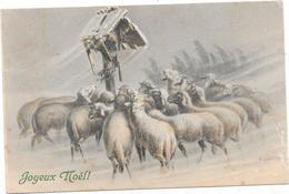 VIENNOISE MM VIENNE - Troupeau De Moutons Dans La Neige - ULRECH - Fancy Cards