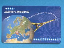 SAN MARINO C&C 7018 - PARIGI TOUR EIFFEL - NUOVA MINT - San Marino
