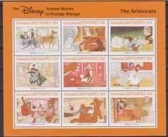2515  Walt Disney  Grenada  Grenadines  The Aristocats . - Grenade (1974-...)