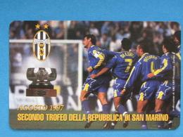 SAN MARINO C&C 7019 - JUVENTUS SECONDO TROFEO SAN MARINO - NUOVA MINT - San Marino