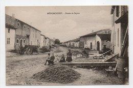 - CPA MÉHONCOURT (54) - Route De Bayon (avec Personnages) - Photo Paul Ritter - - France