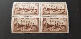 Martinique Yvert 146** Bloc De 4 - Unused Stamps