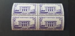 Martinique Yvert 146A** Bloc De 4 - Unused Stamps