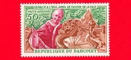Nuovo - MNH - BENIN - Dahomey - 1966 - Papa Paolo VI All'ONU - Appello Per La Pace - 50 - P. Aerea - Benin – Dahomey (1960-...)