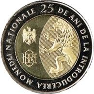 Moldova 2018 10 Lei Commemorative Coin Uncirculated - Moldova