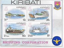 BATEAUX - SHIPPING CORPORATION - Kiribati (1979-...)