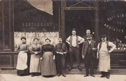 Carte Photo à Identifier Localiser Restaurant Molenat - Postcards