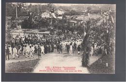 Cote D'Ivoire Aboisso -  Jardin De La Résidence Un Jour De Fête Ca 1905 Old Postcard - Côte-d'Ivoire