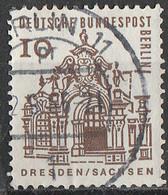 PIA - BERLINO - 1964-65 : Edifici Storici - Padiglioni Dei Bastioni Circostanti Il Palazzo Zwinger A Dresda - (Yv 219) - Monumenti