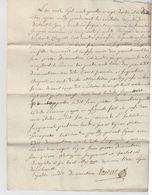 FRANCE. TRES VIEUX DOCUMENT.  10 MAY 1792. BAILLAGE DE GEX PRES DE GENEVE SUISSE - Alte Papiere
