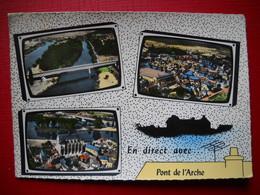 En Direct De Pont De L'arche  . Multivue Dans Télévision . - Pont-de-l'Arche