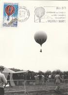 Centenaire Combats Bry Champigny Par  Ballon Villiers Sur Marne 16/1/1971 - Carte Maximum - Montgolfières