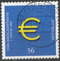 PIA - GERMANIA - 2002 : Adozione Dell' Euro - (Yv 2062) - Usati