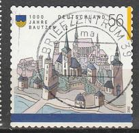 PIA - GERMANIA - 2002 : Millenario Della Città Di Bautzen - (Yv 1700) - Usati