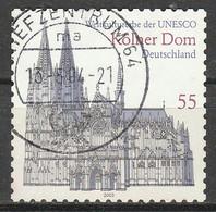 PIA - GERMANIA - 2003 : Cattedrale Di Colonia - Patrimonio Mondiale UNESCO - (Yv 2157) - Usati