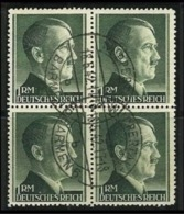 GERMANIA - 3° REICH 1941/42 - HITLER Alti Valori N. 723 Usati - Dent. 12 - Cat. 32,00 € - L. N. 4412 - Allemagne