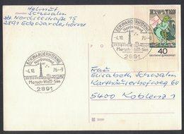 IZ138    Germany 1976 Nordseebad - Special Postmark Lighhouses, Leuchttürme. Fari, Phares - Fari