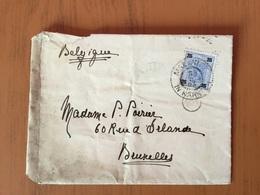 Lettre D'Autriche Vers Belgique Avec YT 72 En 1903 - Covers & Documents