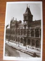 Town Hall, Northampton, Northamptonshire - RP - Posted 1915 - Northamptonshire