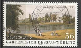 PIA - GERMANIA - 2002 : Patrimonio Mondiale Dell' UNESCO - Quadro Di  Dessau Worlitz - (Yv 2081) - Arte