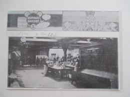 Année(1927) AURAY (Morbihan) CONSERVERIE à Asperges & Petit Pois  Ets SAUSSOY   - Ancienne Coupure De Presse - Historische Documenten