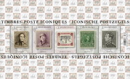 Belg. 2020 - Les Timbres-poste Iconiques ** Iconische Postzegels - Belgium