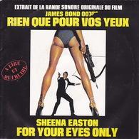 BOF - EP - 45T - Disque Vinyle - Rien Que Pour Vos Yeux - James Bond 007 - N° 83163 - Filmmusik