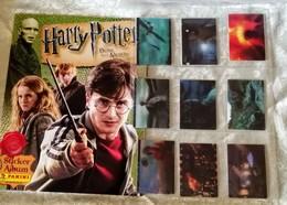 HARRY POTTER DONI DELLA MORTE Parte 1, Album Vuoto+set Completo Card Figurine Poster Centrale Panini 2010 - Panini