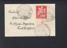 Dt. Reich Kleinbrief 1944 Bretten - Storia Postale