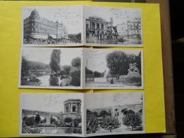 Montpellier , 12 Cartes Doubles ,correspondance Poilu 1915 ,militaria - Montpellier