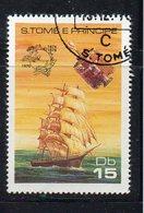 APR2938 - ST. THOMAS PRINCE 1978 , Yvert  N. 503  Usato  (2380A)  Upu - St. Thomas & Prince