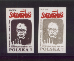 POLAND SOLIDARNOSC SOLIDARITY FAITHFUL TO GOD & COUNTRY SAINT KOLBE AUSCHWITZ NAZI GERMANY WW2 DEATH CAMP PRIEST - Unclassified