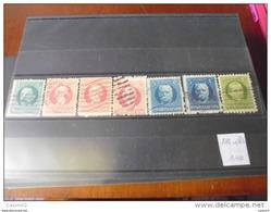 CUBA TIMBRE REFERENCE   YVERT N°175---181 - Kuba