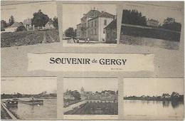 D 71.  GERGY.  SOUVENIR - Altri Comuni