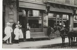 LE CREUSOT - CARTE PHOTO (située Rue D'Autun Selon Annotation Au Crayon Papier Et Après Recherches) Hôtel RODRIGUE - Le Creusot