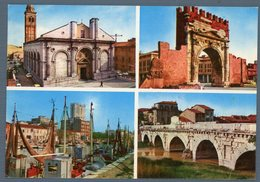 °°° Cartolina - Riviera Adriatica Souvenir Di Rimini Vedute Viaggiata °°° - Rimini