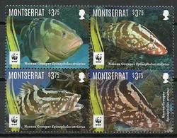 Montserrat 2016 Mi 1809-1812 MNH ( ZS2 MNTvie1809-1812dav37C ) - Peces