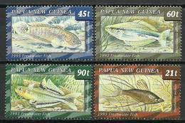 Papua New Guinea 1993 Mi 689-692 MNH ( ZS7 PNG689-692dav37C ) - Peces