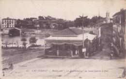 """Cap Ferrat Restaurant """" La Bouillabaise """" De Saint-Jean Et Le Port Circulée En 1918 - Frankrijk"""