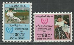 Kuwait 1981 Year, Mint Stamps MNH (** )  Mi # 883-84 - Koeweit