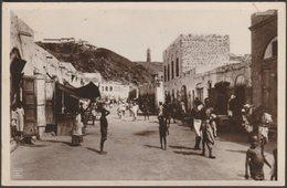 Bazaar, Tawahi, Aden, C.1920s - Pallonjee, Dinshaw & Co RP Postcard - Yemen