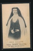 SOEUR MARIE JOSEPH / MARIE VANDERVENNET - MEIGEM 1868 - GENT 1910   - ZIE 2 SCANS - Décès