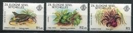 Seychellen Zil Eloigne Mi# 30-3 Postfrisch MNH - Faune Frog Crab - Seychellen (1976-...)